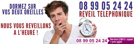 Réveil Téléphonique 08 99 05 24 24